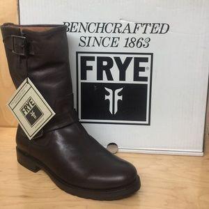 Frye Natalie Mid Engineer Boot US 8.5 #78509